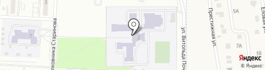 Школа №51 на карте Зареченского