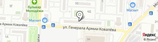 Единая городская служба ремонта на карте Зареченского