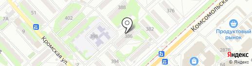 Библиотека №1 им. И.С. Тургенева на карте Орла