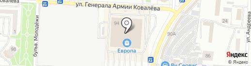 Леди М на карте Орла