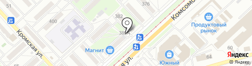 Продуктовый магазин на карте Орла