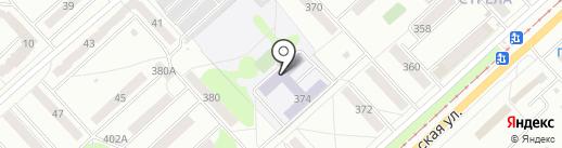 Средняя общеобразовательная школа №6 на карте Орла