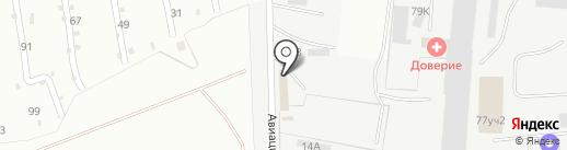 Компания по продаже торгового оборудования для магазинов на карте Орла