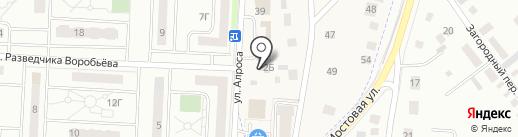 Фарфор на карте Орла
