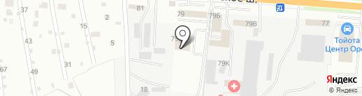 Автоаксессуар на карте Орла