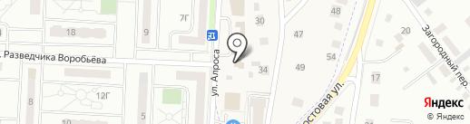Пивной домик на карте Орла