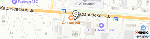 ТОРГОВЫЙ ДОМ МАЗ-ОРЁЛ на карте Орла