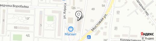 Строящиеся объекты на карте Зареченского
