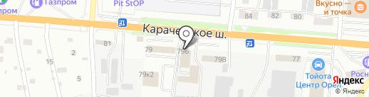Доверие на карте Орла