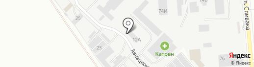 Центр авторазбора на карте Орла