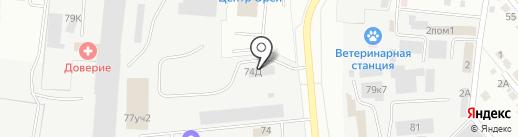 Электросвет на карте Орла