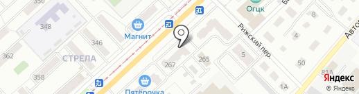 Логан-Москвич-Газель на карте Орла