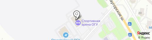 AQUA FIT на карте Орла