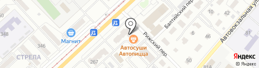 Автопицца на карте Орла