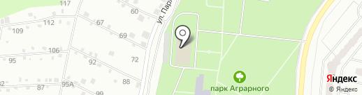 Учебно-выставочный центр на карте Орла
