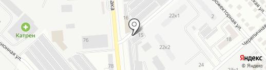 Мастерская автостекла на карте Орла