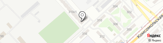 Вектор здоровья на карте Орла