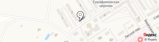 Продуктовый магазин на Школьной на карте Воротынска