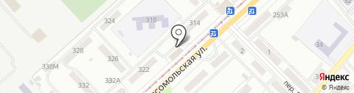 Участковый пункт полиции №5, Заводской район на карте Орла