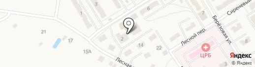 Отделение почтовой связи на карте Воротынска