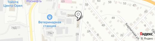 Витагро-Плюс на карте Орла