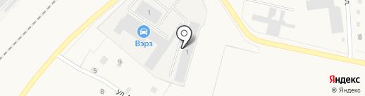 ВЭРЗ на карте Воротынска
