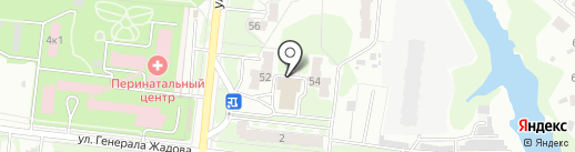 Столовая, ОГАУ на карте Орла