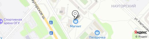 ХмельМаркет на карте Орла