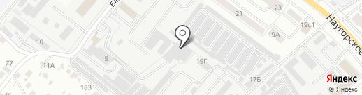 СЛОН на карте Орла