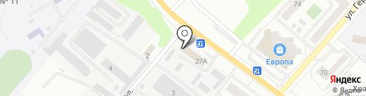 Управление коммунальным хозяйством г. Орла на карте Орла