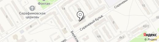 Ромашка на карте Воротынска