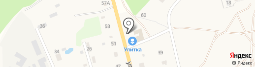 Улитка на карте има. Льва Толстого