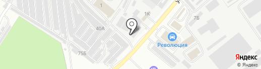 СМ Стройметиз на карте Орла