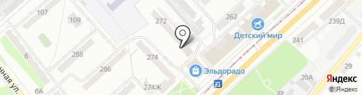 Почтовое отделение №43 на карте Орла