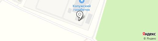 Калужский газобетон на карте Обухово
