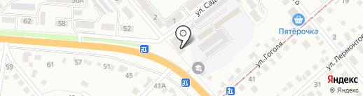 Сластёна на карте Орла