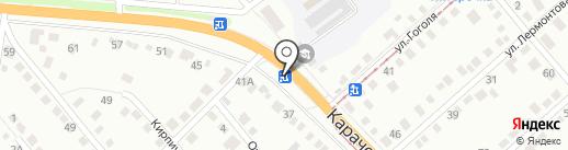 На Карачевском на карте Орла