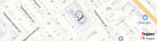 Орловский реставрационно-строительный техникум на карте Орла