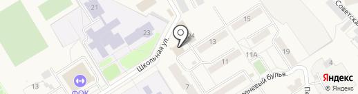 Банкомат, Среднерусский банк Сбербанка России на карте Воротынска