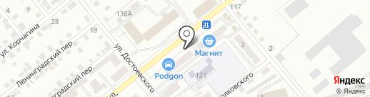 Почтовое отделение №5 на карте Орла