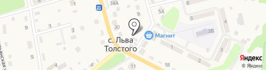Кондитерский магазин на Полевой на карте има. Льва Толстого