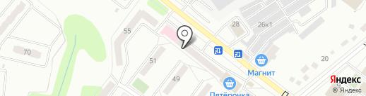Красный крест на карте Орла