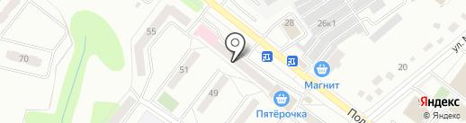 Комплексный центр социального обслуживания населения Советского района на карте Орла