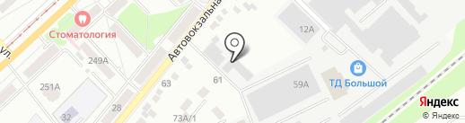Правовое агентство помощи автовладельцам на карте Орла