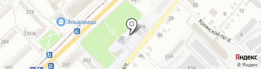 Центр психолого-медико-социального сопровождения Орловской области на карте Орла
