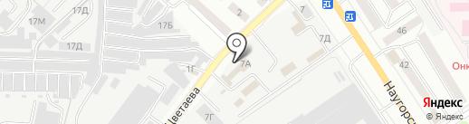 Первая общественная мужская баня на карте Орла