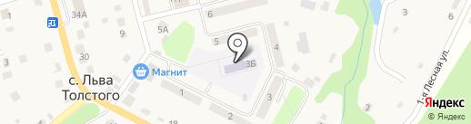 Улыбка, детский сад на карте има. Льва Толстого