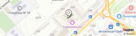 БалтБет на карте Орла