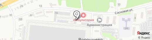 KWT на карте Ворошнево