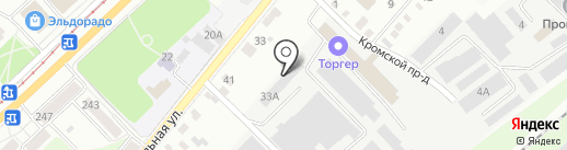 Проф-Офис на карте Орла
